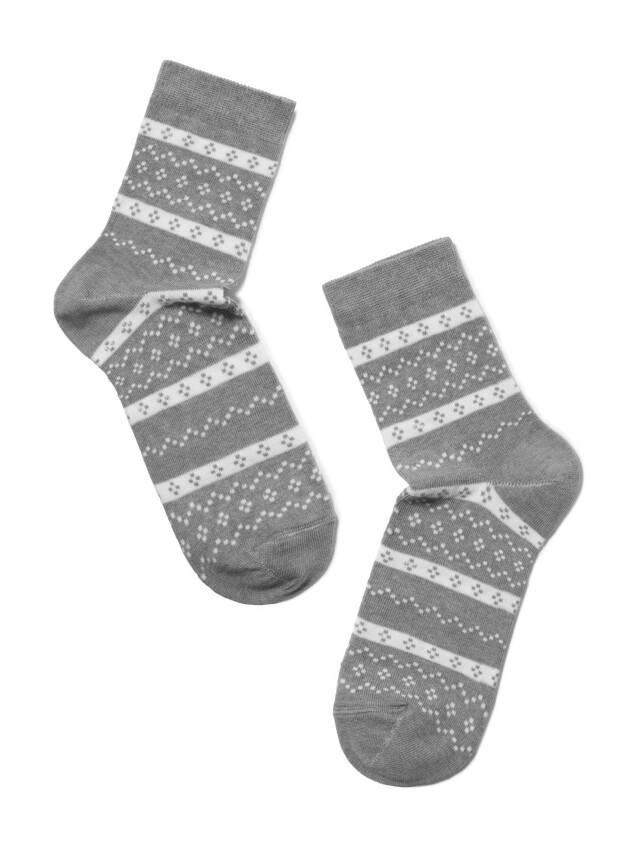 Skarpety damskie CLASSIC, bawełna 15С-15СП, r. 23, 062 szary - 2