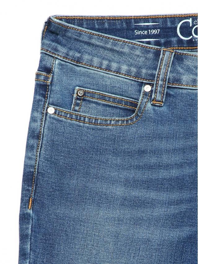Джинсы skinny со средней посадкой CON-182, р.170-94, authentic blue - 7
