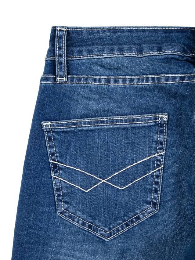 Jeansy klasyczne proste o średnim kroju 2091/49123 7