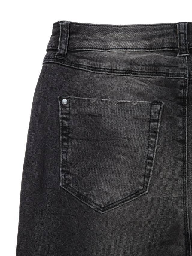 Джинсы skinny с высокой посадкой CON-171 Lycra®, р.164-94, washed black - 10