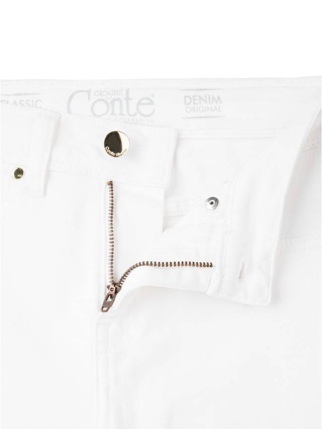 Spodnie denim CONTE ELEGANT CON-38L, r. 170-90, biały - 5