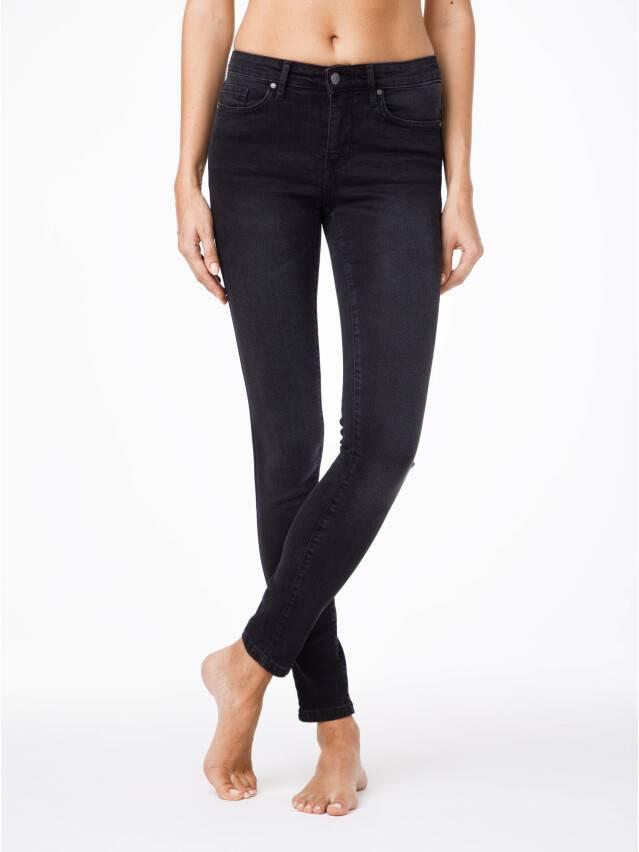 Spodnie jeansowe damskie CONTE ELEGANT 2992/4937 , r.170-102, ciemnoszary - 1
