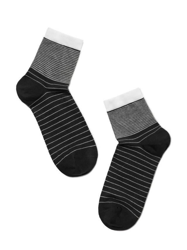 Skarpety damskie CLASSIC, bawełna 7С-22СП, r. 23, 058 czarny - 2