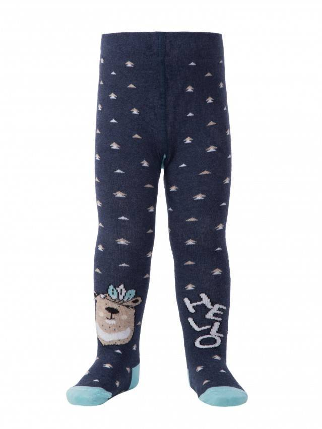 Колготки детские TIP-TOP (весёлые ножки) 14С-79СП, р.104-110 (16),478 темно-синий - 1