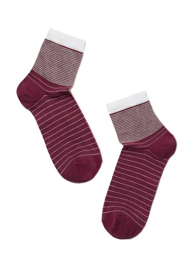 Skarpety damskie CLASSIC, bawełna 7С-22СП, r. 25, 058 liliowy - 2
