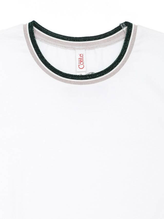 Футболка LD 1107, р.170-92, white - 5