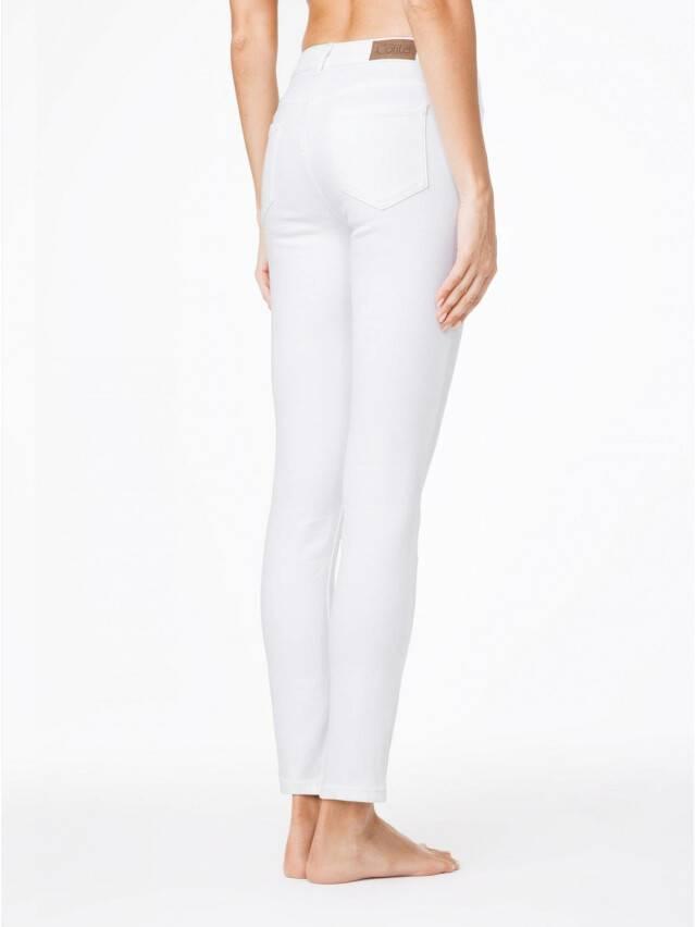 Spodnie denim CONTE ELEGANT CON-38L, r. 170-90, biały - 2