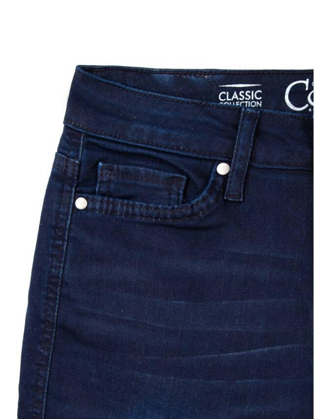 Spodnie denim CONTE ELEGANT CON-82, r.170-90, ciemnoniebieski - 5