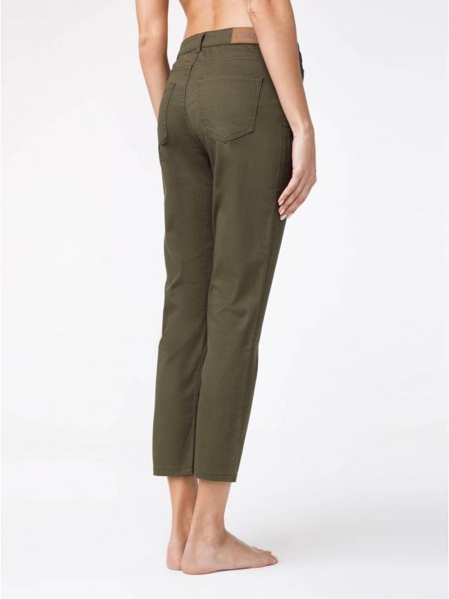 Spodnie denim CONTE ELEGANT CON-139A, r.170-94, khaki - 2