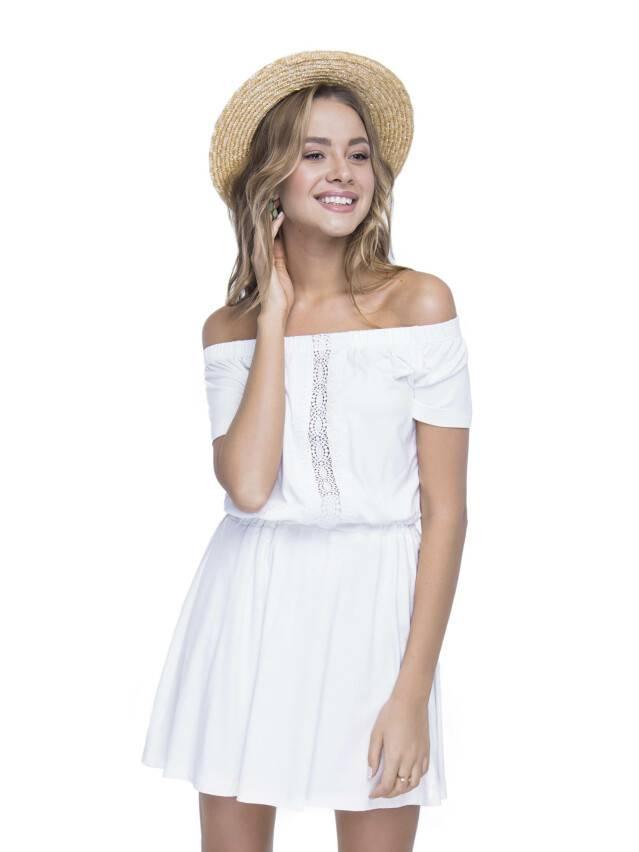 Sukienka damska LPL 523, r. 158,164-100-106, mleczny - 5