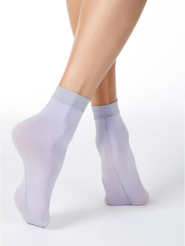 Skarpetki damskie poliamidowe FANTASY (lurex) 16С-125СП, r. 36-39, violet - 2