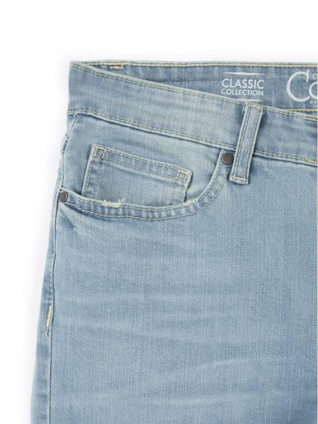 Spodnie jeansowe damskie CONTE ELEGANT 756/3465, r.170-102, błękitny - 6