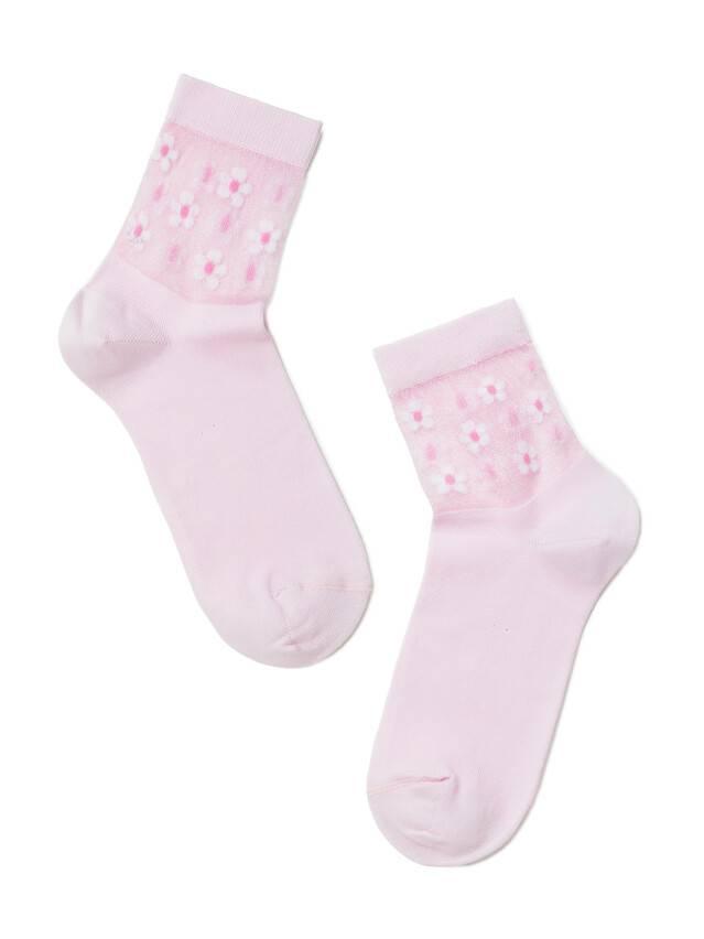 Skarpety damskie bawełniane CLASSIC (rete) 16С-83СП, r.23, 084 jasnoróżowy - 2