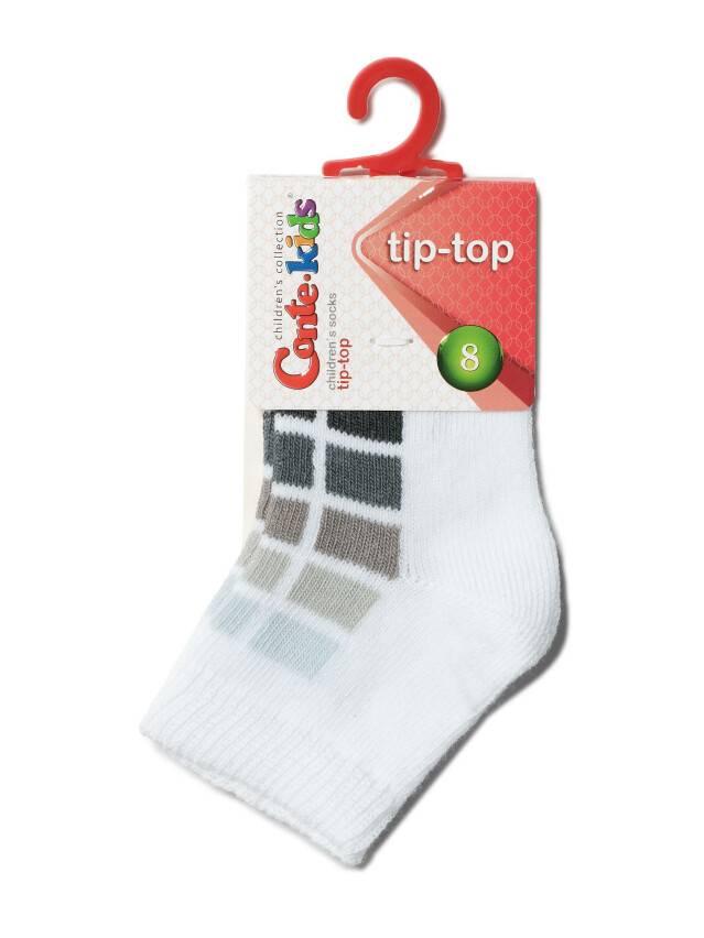 Skarpety dziecięce TIP-TOP, r. 8, 217 biały-szary - 2