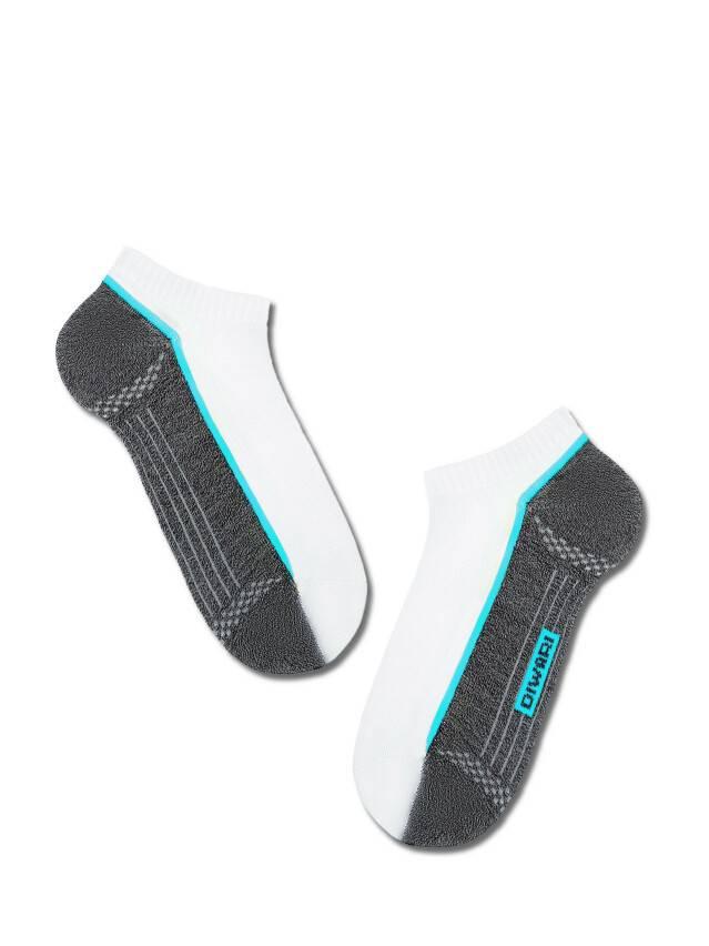 Skarpety męskie ACTIVE (ultrakrótkie) 15С-44СП, r.25, 044 biały-jeans - 1