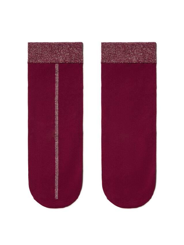 Skarpety poliamidowe damskie FANTASY (lurex) 16С-125СП, r. 36-39, bordo - 3