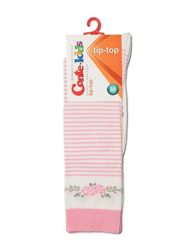 Podkolanówki dla dzieci TIP-TOP, r. 18, 038 mlecznoróżowy - 2