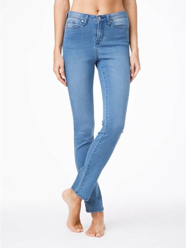 Spodnie denim CONTE ELEGANT CON-47, r.164-90, ciemnoniebieski - 1