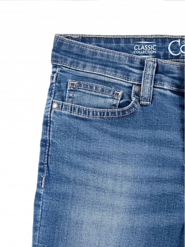 Jeansy modelujące Skinny w średnim kroju 4640/4915L 6