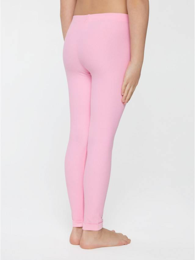 Legginsy dla dziewczynek CONTE ELEGANT FLUFFY, r.104,110-56, pink - 2