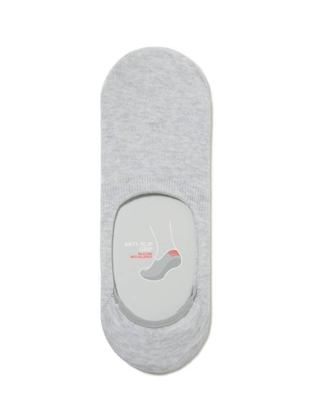 Stopki męskie bawełniane DIWARI CLASSIC,r.25, 000 light grey - 1