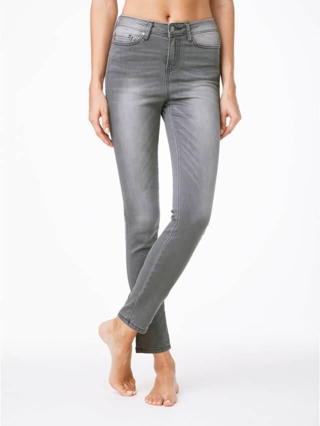 Spodnie denim CONTE ELEGANT CON-49, r.170-90, szary - 1