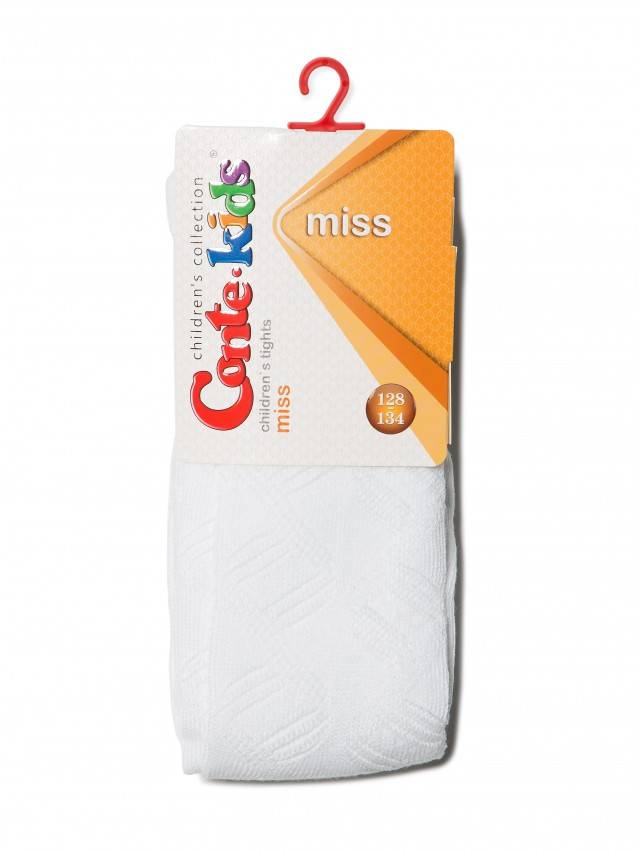 Rajstopy dla dzieci MISS, r.116-122 (18),272 biały - 2