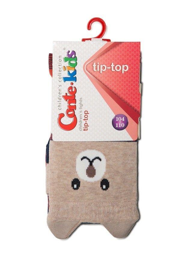 Rajstopy dziecięce CONTE KIDS TIP-TOP, r.104-110 , 449 granatowo-czerwony - 2