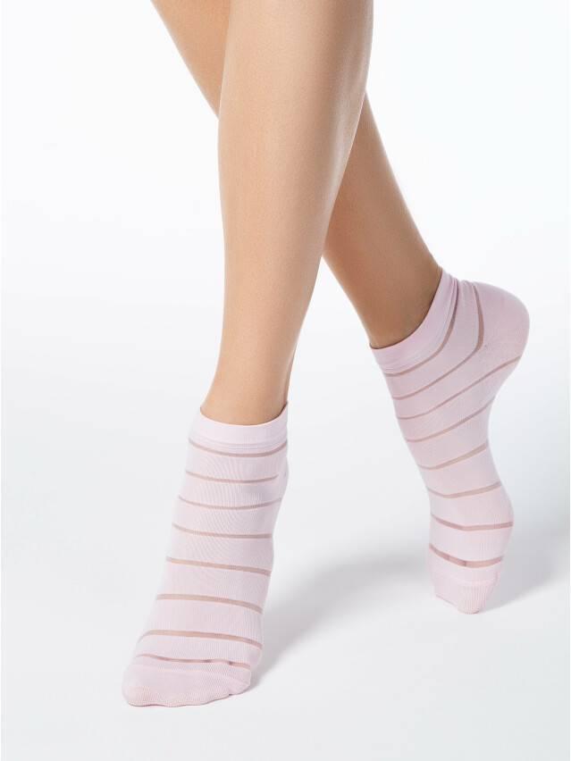 Skarpety damskie poliamidowe FANTASY (krótkie) 17С-56СP, r. 23-25, light pink - 1