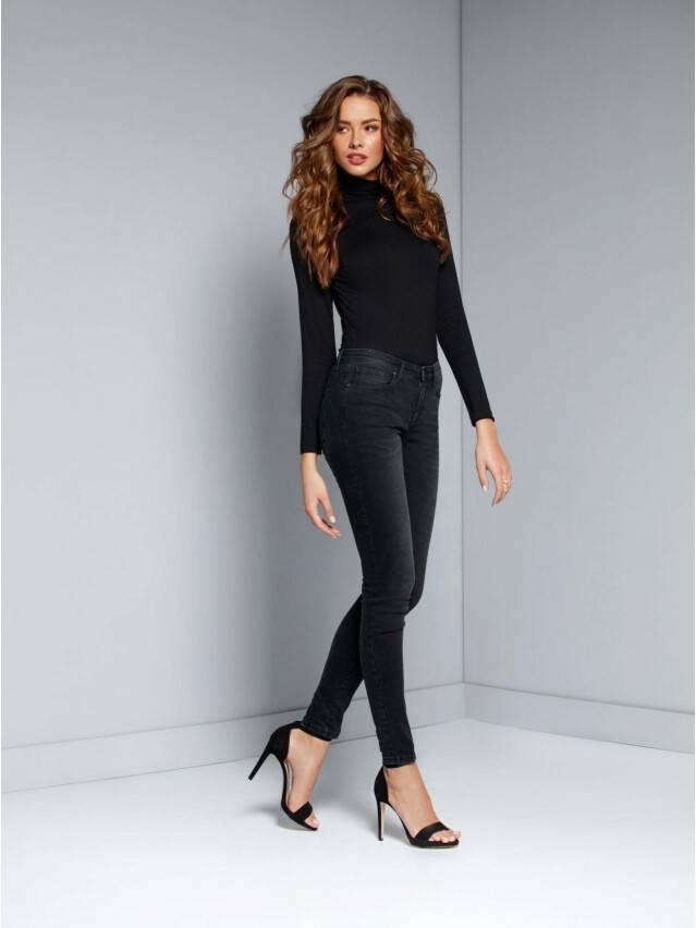 Spodnie jeansowe damskie CONTE ELEGANT 2992/4939, r.170-102, czarny - 1