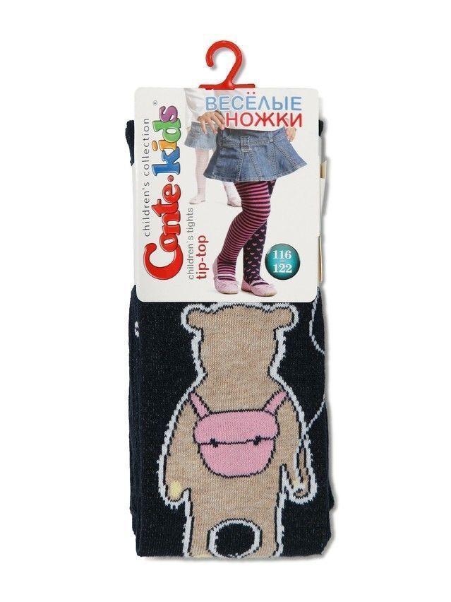 Rajstopy dziecięce TIP-TOP (wesołe nóżki) 14С-79СП, r.116-122 (18),488 ciemnoniebieski - 3