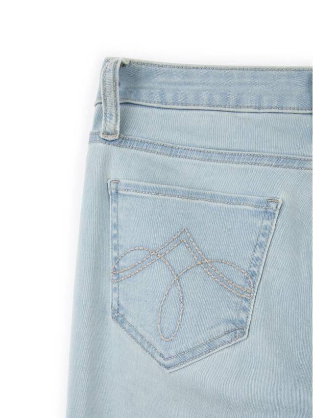 Spodnie denim CONTE ELEGANT CON-45, r.164-90, błękitny - 7