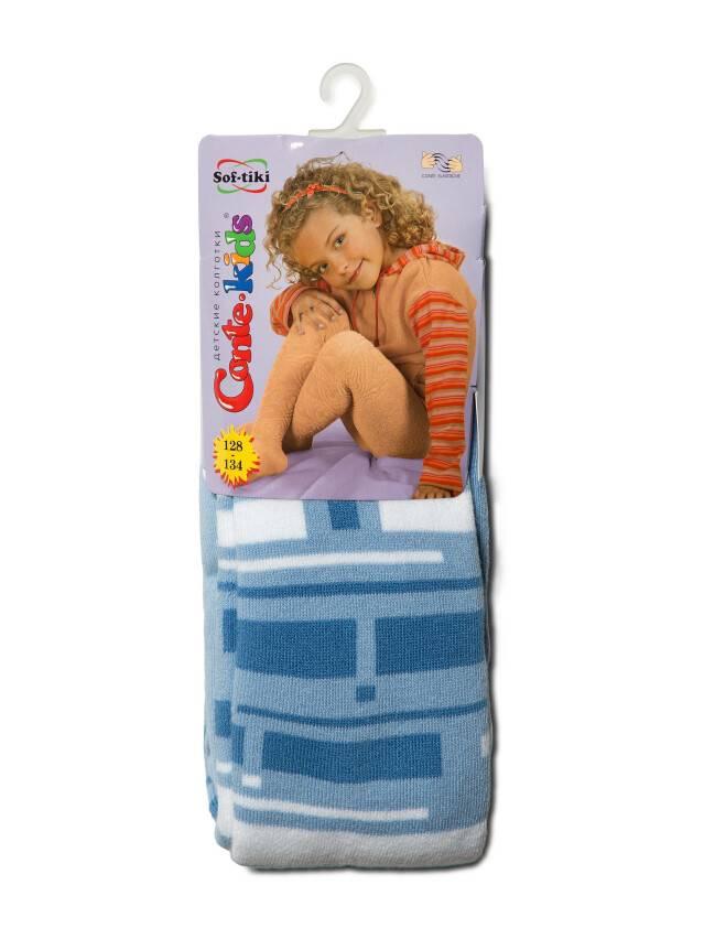 Rajstopy dla dzieci SOF-TIKI 7С-38СП, r.128-134 (20),243 błękitny - 2