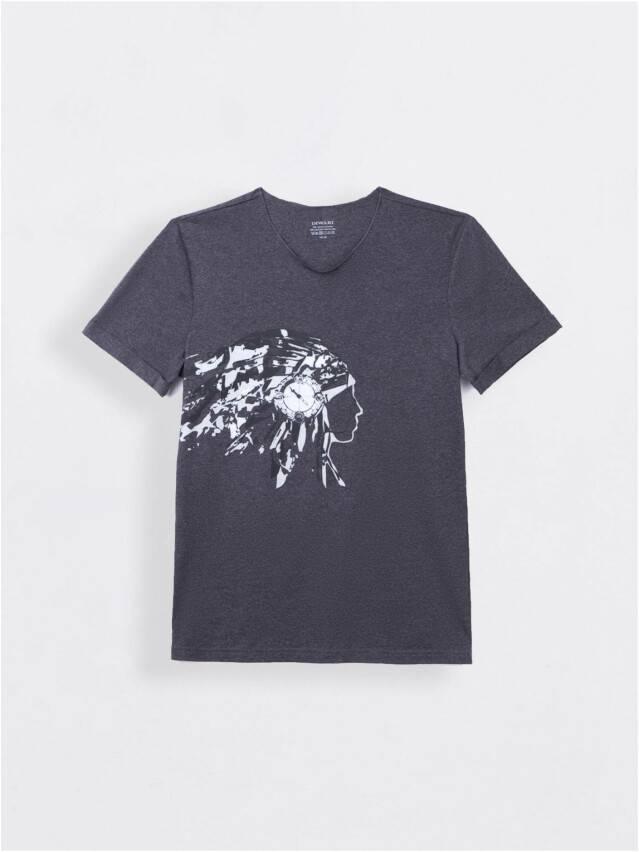 Koszulka męska DiWaRi, r. 182-92, grafit - 1