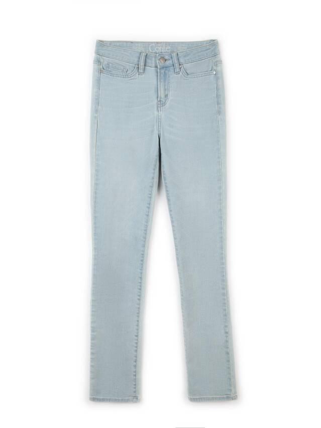 Spodnie denim CONTE ELEGANT CON-45, r.164-90, błękitny - 3