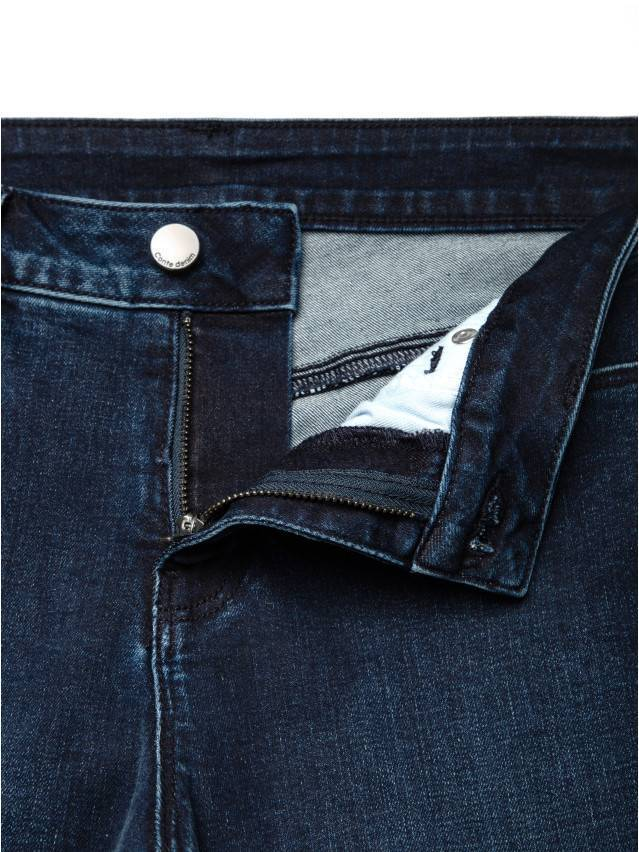 Spodnie denim CONTE ELEGANT CON-136, r.170-102, dark blue - 8