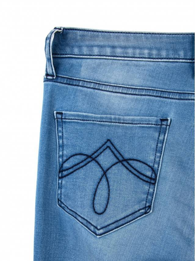Spodnie denim CONTE ELEGANT CON-47, r.164-90, ciemnoniebieski - 7