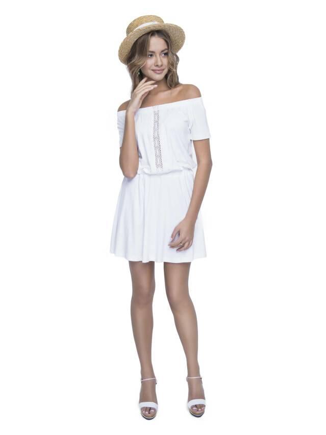 Sukienka damska LPL 523, r. 158,164-100-106, mleczny - 4