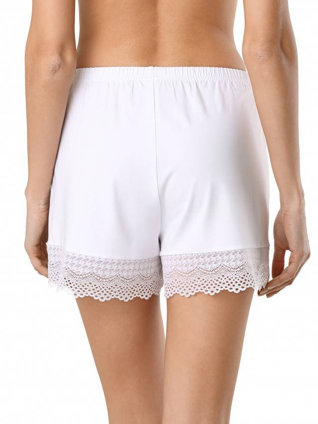 Women's shorts for home COMFORT LOUNGEWEAR LHW 990, s.170-90, white - 2
