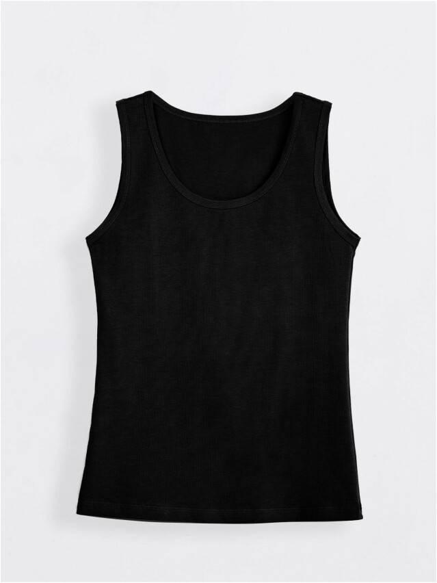 Koszulka damska COMFORT LM 566, r.170,176-100, czarny - 1