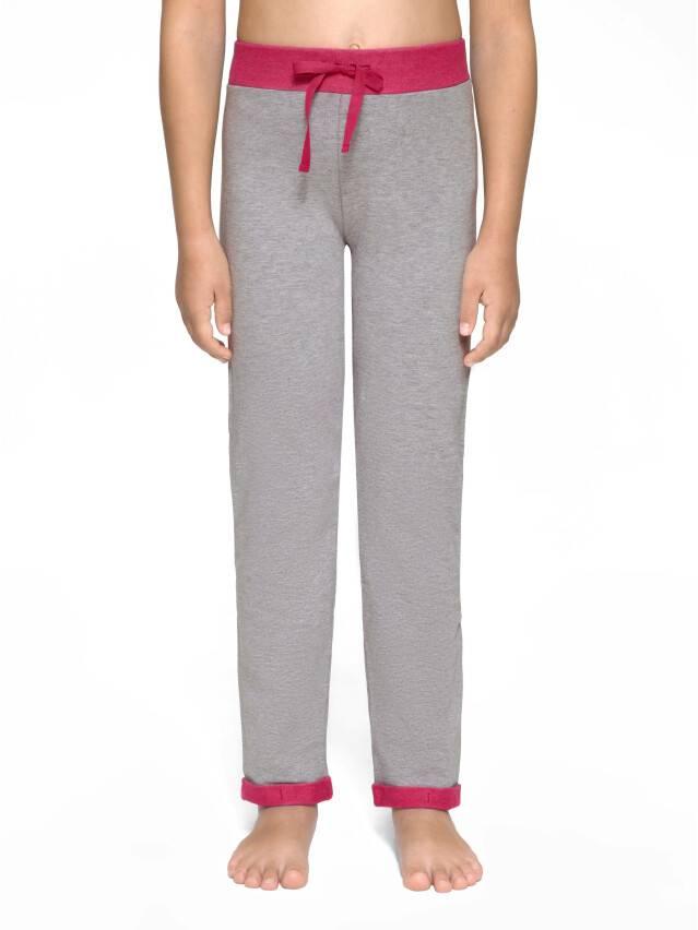 Spodnie dla dziewczynek CONTE ELEGANT JOGGY, r.110,116-56, grey-pink - 3