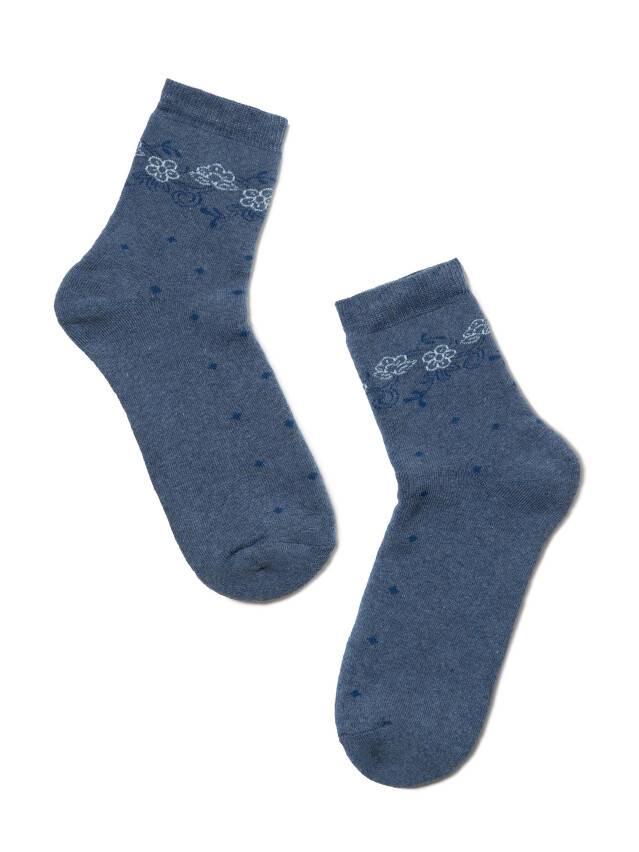 Skarpety damskie COMFORT, bawełna (frotte) 7С-47СП, r. 23, 034 jeans - 2