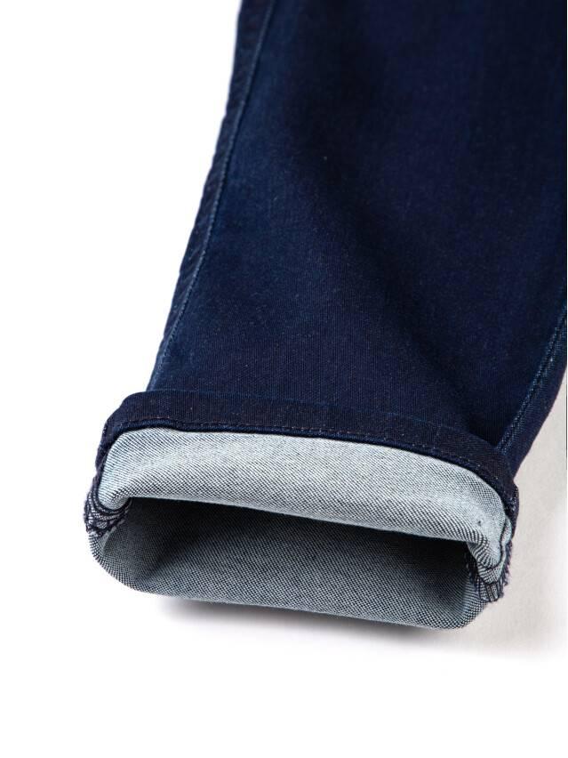Spodnie denim CONTE ELEGANT CON-82, r.170-90, ciemnoniebieski - 8