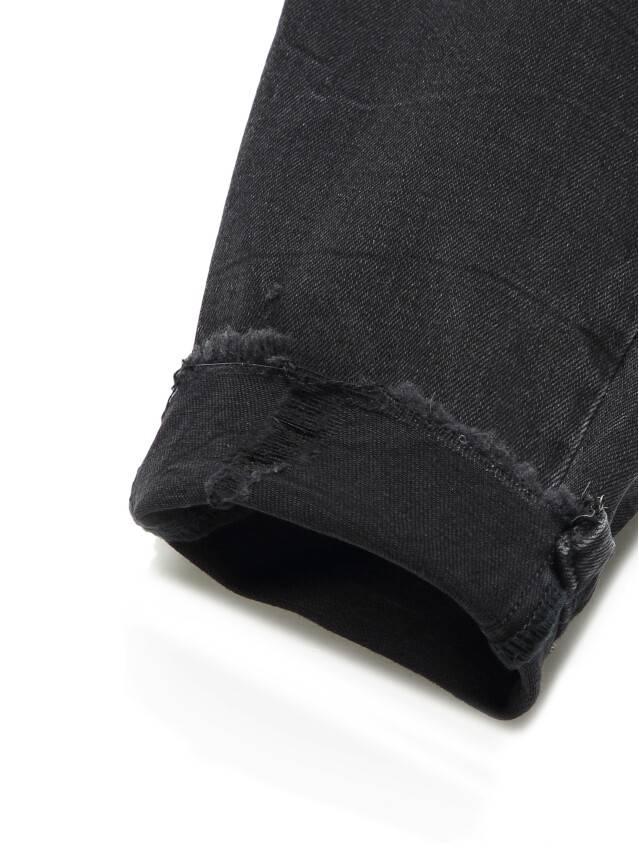 Джинсы skinny с высокой посадкой CON-171 Lycra®, р.164-94, washed black - 12