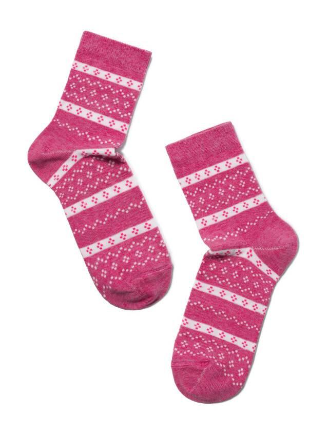 Skarpety damskie CLASSIC, bawełna 15С-15СП, r. 25, 062 różowy - 2