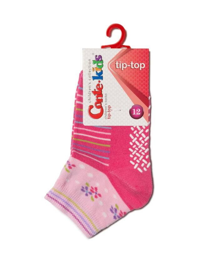 Skarpety dziecięce TIP-TOP (antypoślizgowe),r. 14, 253 różowy - 2