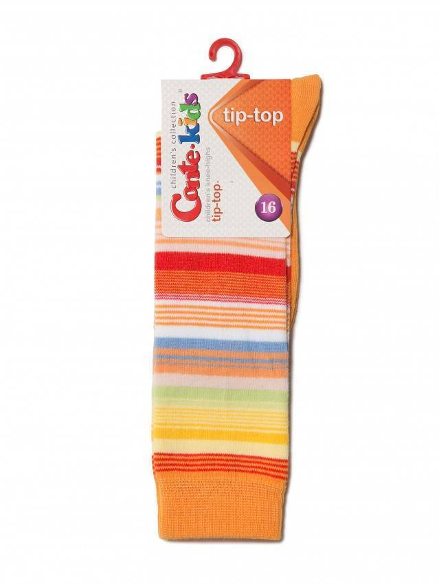 Podkolanówki dla dzieci TIP-TOP, r. 16, 024 оранжевый - 2