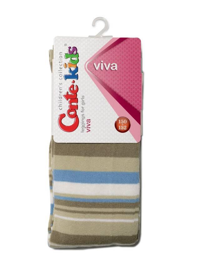Legginsy dla dziewczynek VIVA, r. 150-152, 005 musztardowy - 1