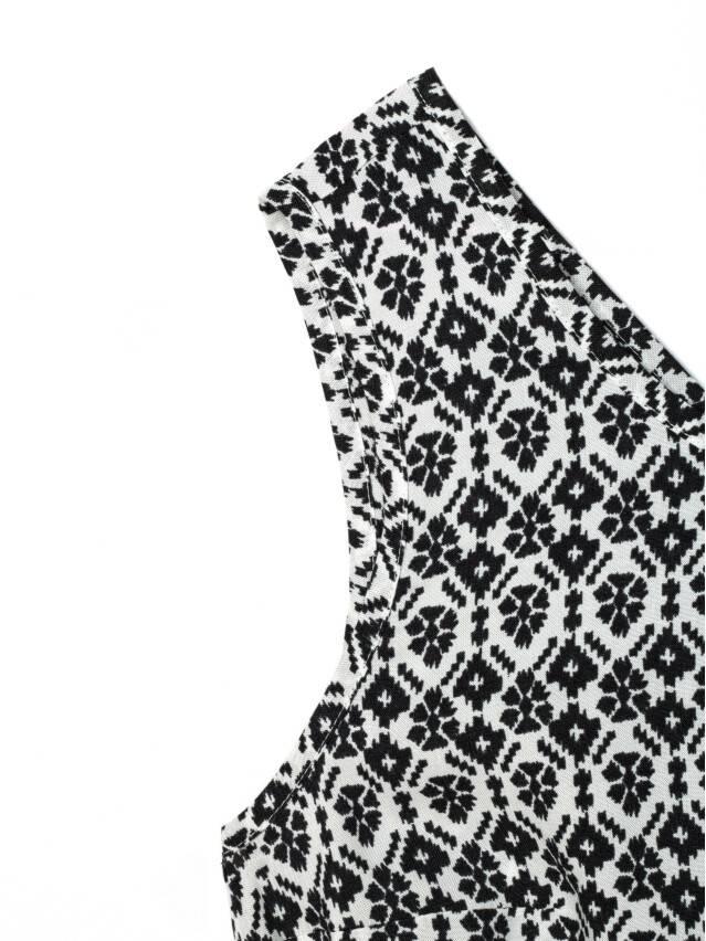 Kombinezon damski SIENA, r. 164-84-92, black-white - 5