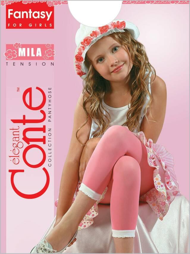 Legginsy dla dziewczynek MILA, r. 104-110, blue - 1